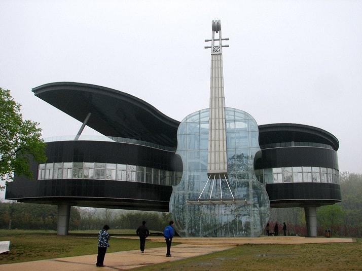 La Casa Piano en China, una de las maravillas arquitectónicas del mundo