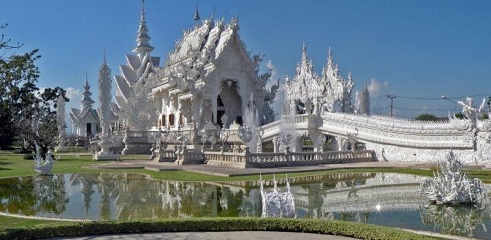 Wat Rong Khun en Tailandia, una de las 12 maravillas arquitectónicas del mundo