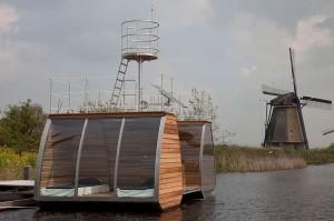 flotante casas más curiosas foto