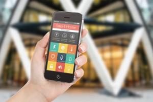 móvil vivir en una smart home foto