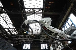 robot construcción del futuro foto