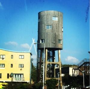 torre de agua casas más curiosas foto