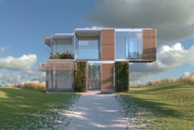 infografía casas modulares inteligentes blokable