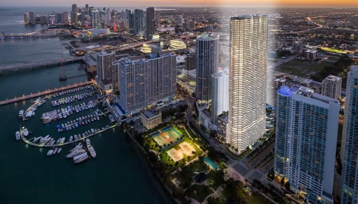 Aria on de bay Miami, un proyecto diferente