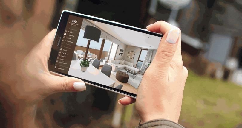 Recorridos virtuales permiten ver y modificar tu futura vivienda