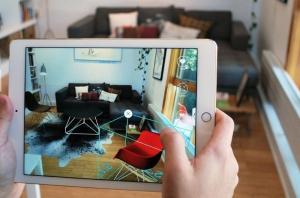 foto realidad aumentada en el sector inmobiliario post