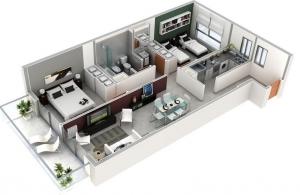 foto viviendas de 1 o 2 dormitorios post