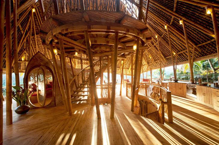 Ibuku casas de bambú