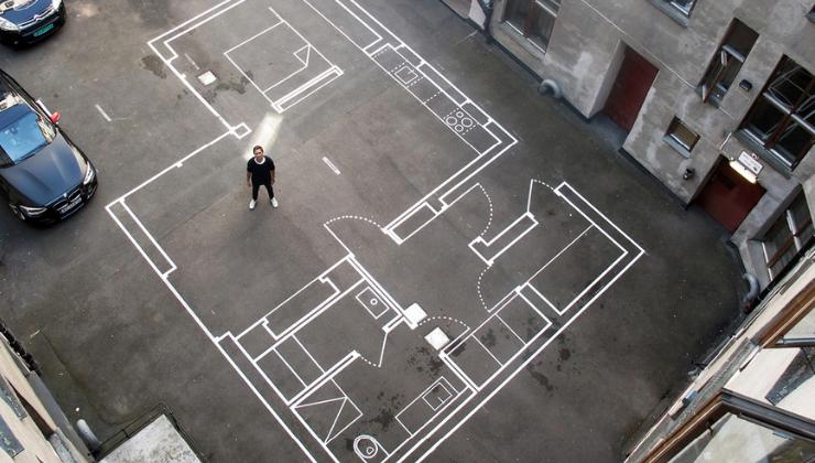 Planos de viviendas a escala real